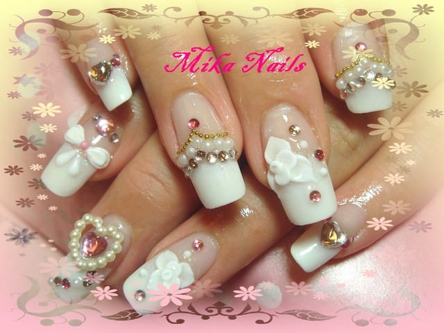 ♥高雄Mika美甲 ♥婚禮款水晶指甲 ♥凝膠指甲 ♥手足保養 ♥