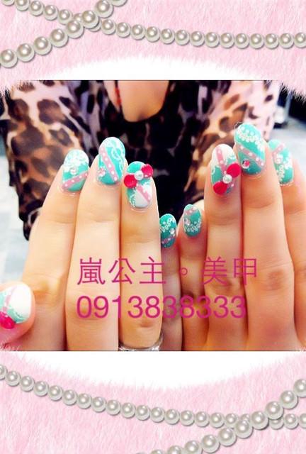 高雄嵐公主美甲~可卸式凝膠指甲單色799 漸層璀璨只要899(加碼贈2指粉雕唷^^)手足保養